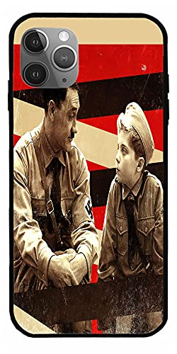 MDTEE Phone Case Compatible with iPhone 12 11 X Xs Xr 8 7 6 6s Plus Mini Pro Max DVD JoJo Rabbit Blu Ray Comedy Drama 2019 Adolf Hitler Red Movie Pure Clear Cases Cover Full Body