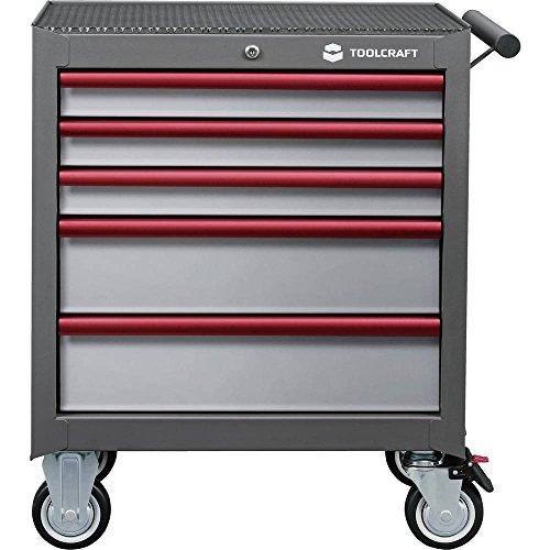 Toolcraft 890680 Werkstattwagen Herstellerfarbe:Grau, Anthrazit, Rot