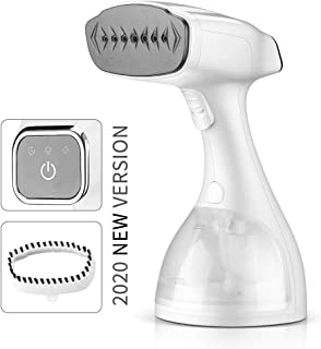 ASZ Steamer for Clothes, Portable Garment Steamer for Clothes with Fabric Brush 120V 1500-Watt 25S Fast Heating Auto Shut Off 300ml Detachable Water Tank