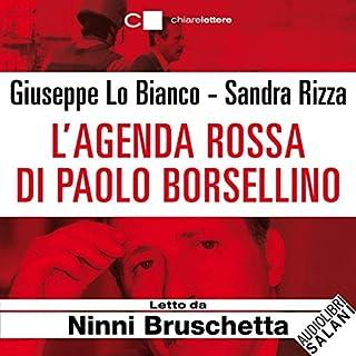 L'agenda rossa di Paolo Borsellino copertina