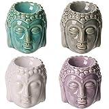 Subito disponibile 4 Pezzi Brucia Essenze Testa di Buddha Thailandese 8cm