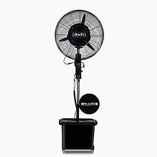 Enfriador de ventilador para uso industrial, comercial, residencial, de efecto invernadero, ventilador de pedestal Altura ajustable Ventilador oscilante de 3 velocidades