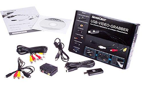 Unbekannt SilverCrest® USB Video Grabber SVG 2.0 A3 - Video Digitalisieren
