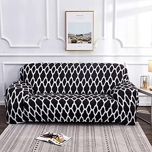 yunge Elastic Spandex Sofabezug Couchbezug All-Inclusive Sofabezüge für Wohnzimmer Schonbezüge Dekor Farbe 9,3-Sitzer 190-230cm