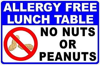 Best free peanut free signs Reviews