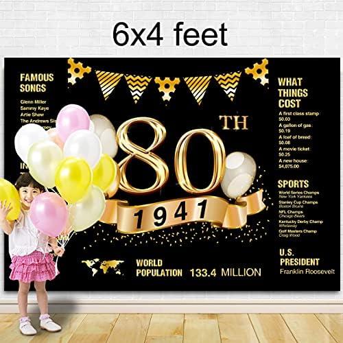 80th birthday background _image3
