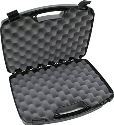MTM Case-Gard Two Pistol Handgun Case, Black