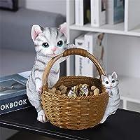 猫と犬の収納デコレーションリビングルームデスクトップポーチクリエイティブホームデコレーションパーソナライズされたドアキーデコレーション
