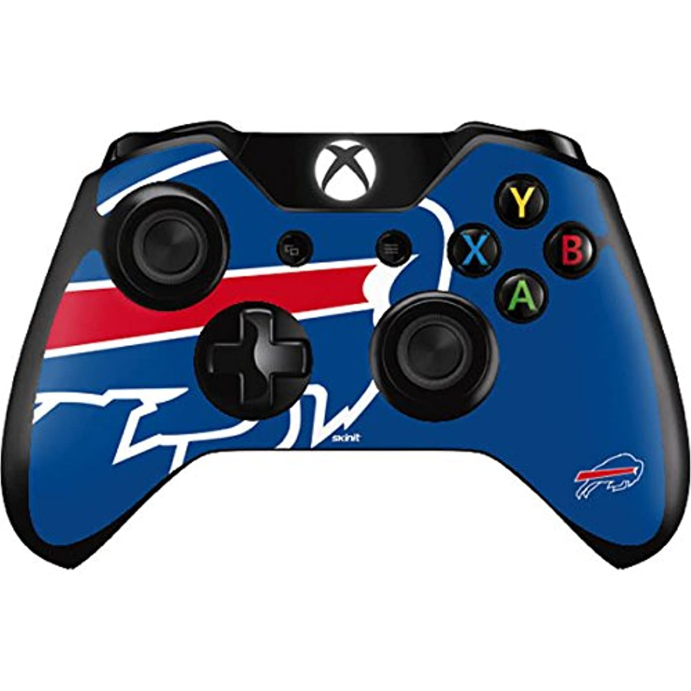 Skinit Buffalo Bills Large Logo Xbox One Controller Skin - Officially Licensed NFL Gaming Decal - Ultra Thin, Lightweight Vinyl Decal Protection