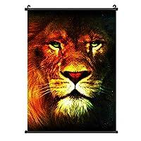 Starry Lion Head Modern Decorative Art 装飾画 アートモダン絵画 玄関に飾る モダンアート キャンバス絵画 壁掛け 部屋飾り