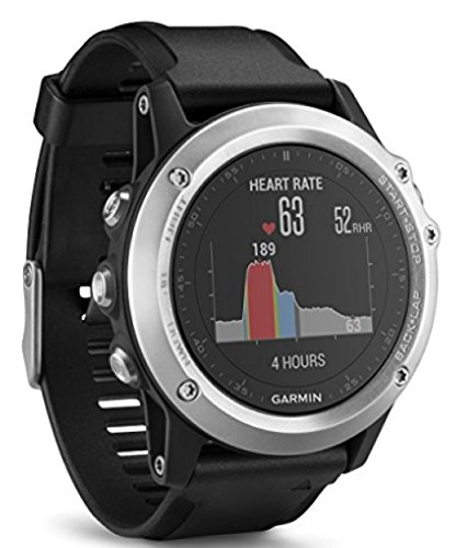 Garmin Fenix 3 HR GPS Multisport Watch with Outdoor Navigation and Wrist Based Heart Rate - Silver Edition [並行輸入品]