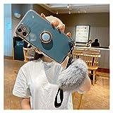 carcasa de telefono Caja de placas 6D Fit For Xiaomi 10T Lite Fit For Redmi Note 9 8 K20 7 9A 5 8T K30 K30S 8A 7A Pro Maom Teléfono móvil Cubierta del teléfono ( Color : Dark green , Size : Mi 10T )