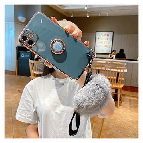 LBWNB Carcasa de telefono Caja de Placas 6D Fit For Xiaomi 10T Lite Fit For Redmi Note 9 8 K20 7 9A 5 8T K30 K30S 8A 7A Pro Maom Teléfono móvil Cubierta del teléfono