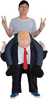 Keebgyy Halloween Inflatable Costume, Halloween Funny Festival Stage Cosplay Costume, Inflatable Blow Up Costume Performance Costume Piggyback Costume - One Size Fits Most