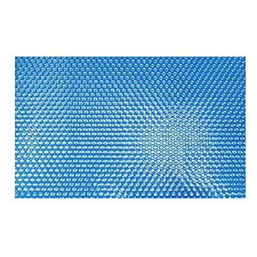 fuaensm Cubierta solar rectangular para piscina, cubierta solar, recortable, rectangular