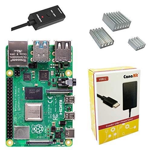 CanaKit Raspberry Pi 4 Basic Kit (1GB RAM)