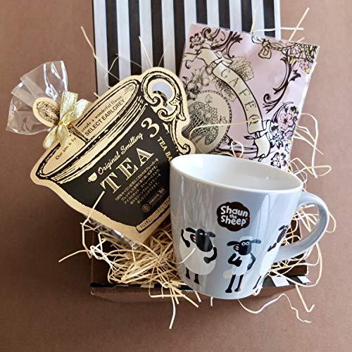 ティータイムギフト/ショーンマグ&紅茶&ストロベリーホワイトチョコセット (グレイマグ)