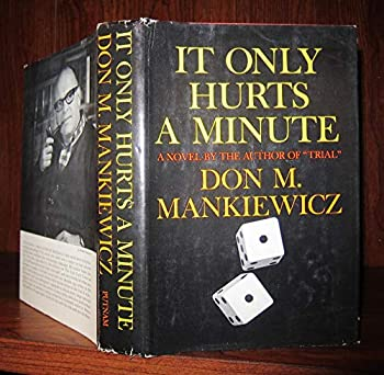Hardcover It only hurts a minute;: A novel, Book