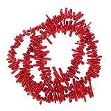 Nobranded 9 12 Mm Chips Branch Deep Red Sea Bamboo Coral Gem Cuentas Sueltas 16