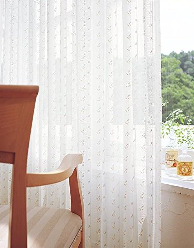 平らな発明するピッチャー東リ 刺繍調に表現した小花 フラットカーテン1.3倍ヒダ KSA60472 幅:200cm ×丈:220cm (2枚組)オーダーカーテン