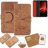 K-S-Trade® Handy Schutz Hülle Für UMIDIGI Z1 Pro Korkhülle 1x