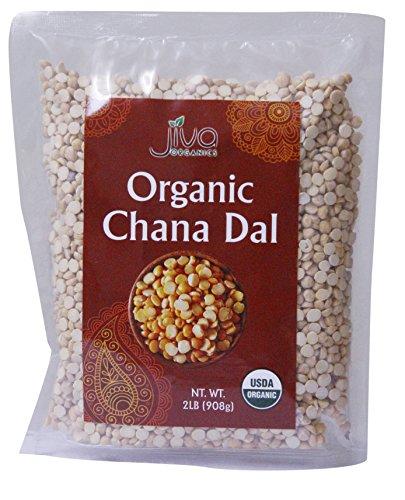 Jiva USDA Organic Chana Dal Beans (2LB)