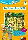 Klett Lernhilfe: Die Mathe-Helden Rechnen bis 1000 3. Klasse Grundschule (mit Stickern)