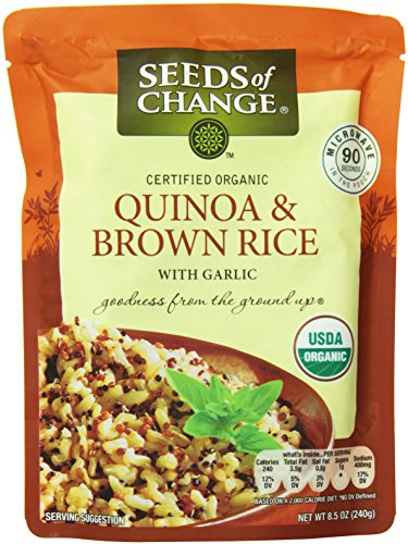 Seeds of Change Organic Quinoa and Brown Rice 85 Ounce  6 count