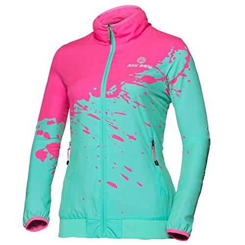 Liza Tech Jacket - pink/Green (FS18)