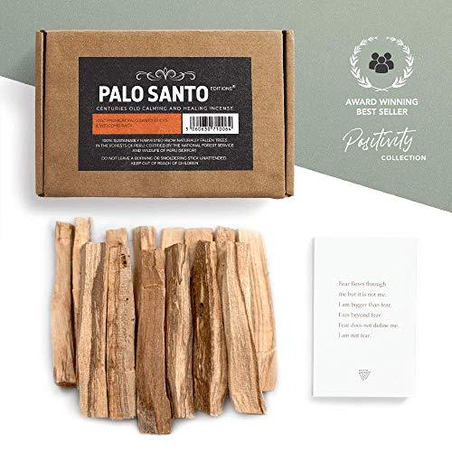 Aashram Premium Palo Santo Edition 100g Sticks Packung - Umweltfreundliche Duftsticks aus Palo Santo Holz aus Peru in Minimalverpackung zum Yoga, Meditation, Beruhigen, Reinigen und Heilen.