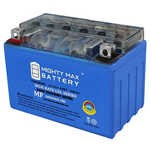 Mighty Max Battery YTX9-BS Gel Battery Replacement for CTX9-BS, WP9-BS, FTX9-BS Brand Product