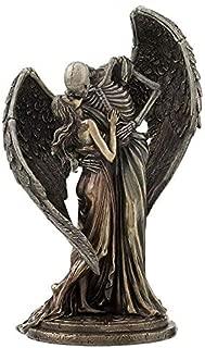 XoticBrands The Kiss of Death - Cold Cast Bronze Sculpture