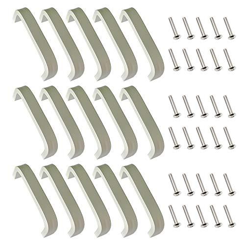 15 Stück silberne Aluminium...