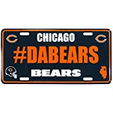 Siskiyou NFL Chicago Bears Unisex Hashtag License Plate
