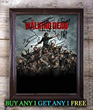The Walking Dead Cast Autographed Signed Reprint 8x10 Photo #59 Special Unique Gifts Ideas for Him Her Best Friends Birthday Christmas Xmas Valentines Anniversary Fathers Mothers Day