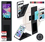 Cover for Wiko Rainbow Up Case | in Black Leather |