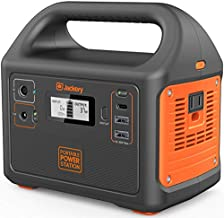 Jackery Portable Power Station Explorer 160, 167Wh Lithium Battery Solar Generator (Solar Panel Optional) Backup Power Supply with 110V/100W(Peak 150W) AC Outlet for Outdoors Camping Fishing Emergency