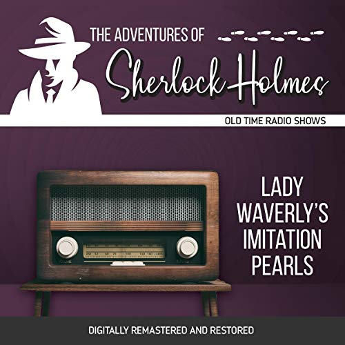 Couverture de The Adventures of Sherlock Holmes: Lady Waverly's Imitation Pearls