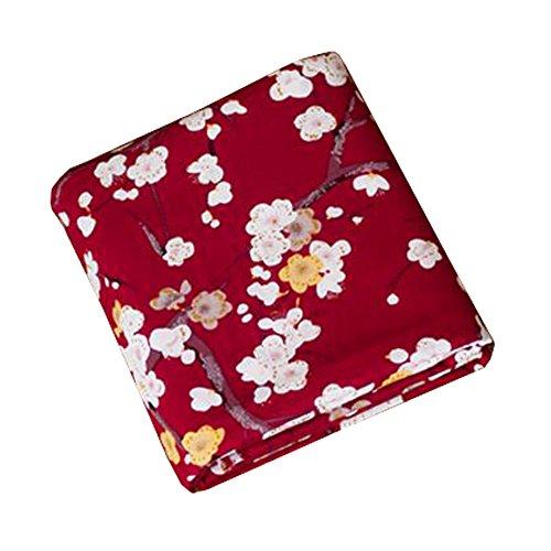 Zwarte verleiding Japanse stijl Handgemaakte stoffen -DIY Gifts Bag/Kimono/Kussen Covers-A9