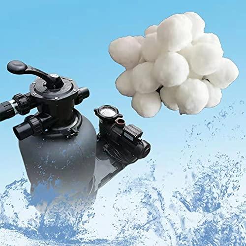 500gFiber Ball Waterbehandeling filtermedia Wattenbol voor zwembadreiniging