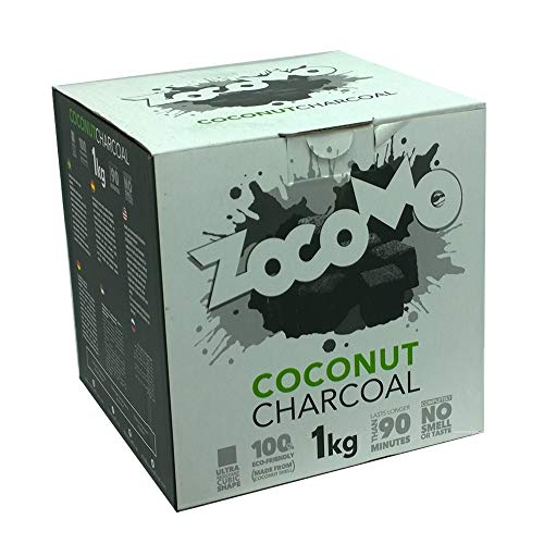 Zocomo Cubes - 1 kg | Shisha Natur-Kohle von Zomo