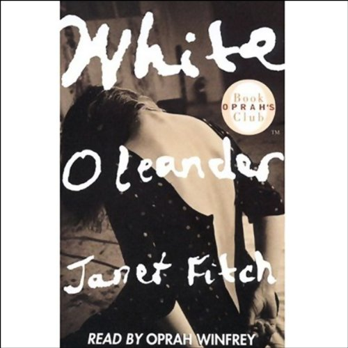 White Oleander audiobook cover art