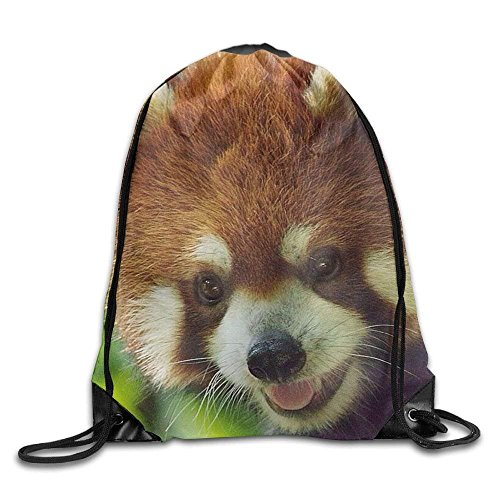 Etryrt Mochilas/Bolsas de Gimnasia,Bolsas de Cuerdas, Lesser Panda Drawstring Backpack Rucksack Shoulder Bags Training Gym Sack For Man and Women