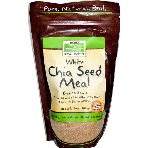 Real Food, Weißer Chia Seed Meal, 10 oz (284 g) - Now Foods