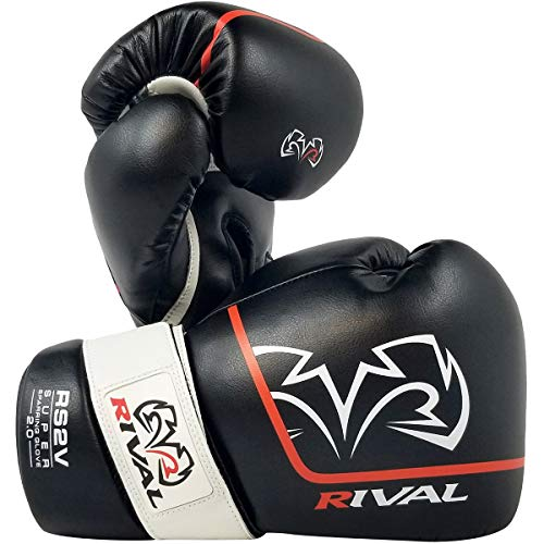 RIVAL Boxing RS2V 2.0 Super Pro Hook and Loop Sparring Gloves