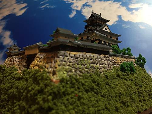 日本100名城 現存天守12城 国宝 犬山城 お城 模型 ジオラマ完成品 B5サイズ