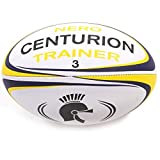 Centurion Nero Trainer Rugby Ball, Yellow, Size 4