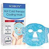 Augenmaske kühlend, Kühlmaske Kühlpads Gel Augenmaske, Entspannungsmaske wirkt beruhigend &...