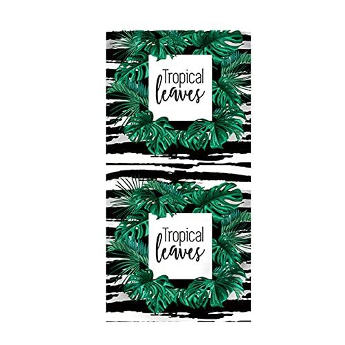 Toalla de Playa de Verano Tamaño Grande Flamenco Tropical Flor Piña Raya Microfibra Hoja Verde Mariposa Palmera Natación Viajes Yoga Toalla de Playa de Secado Rápido (Color 7,150x180 cm)