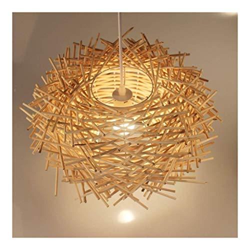 Moderne minimalistische Wandleuchte verstellbar kreativ W Bambus Vogel-Nest-Leuchter Rattan Hängelampe Innen Laterne Deckenleuchte kreative Schatten Hängelampe Guest Family Hotel Dekoration Beleuchtun